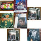 Lot of 7 Band Promo Posters: The Start, SRC, Duncan Sheik, Audiovent, et al