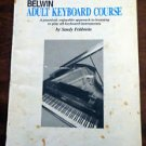 Belwin Adult Keyboard Course By Sandy Feldstein 1991 Edition