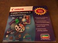 Canon Creative 3 Software
