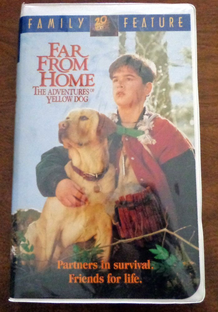 Far From Home The Adventures Of Yellow Dog Vhs 1995