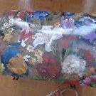 Floral Print Decorative Storage Trunk