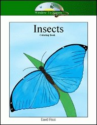 Insects Coloring Book CD