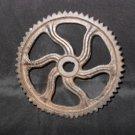 Set of 6 Decorative Cast Iron Gears