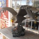 "Beautiful Fiberglass Painted Eagle "" 5 Foot Wing Span"""