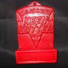 "Cast Iron Match Book Holder "" Keen Kutter Cutlery & Tools"""