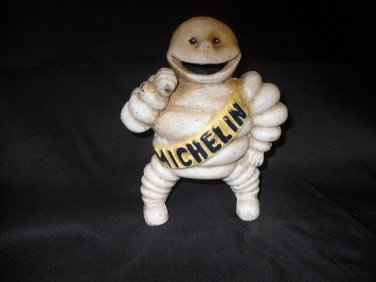 Cast Iron Michelin Man Bank