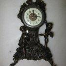 Bronze cherub clock