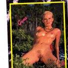 Gina #162 Hustler 1993 Adult Sexy Trading Card