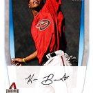 Keon Broxton - Diamond Backs 2011 Bowman Baseball Trading Card #BP42