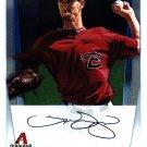 Thomas Layne - Diamond Backs 2011 Crome Baseball Trading Card #BCP19