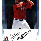 Wagner Mateo - Diamond Backs 2011 Crome Baseball Trading Card #BCP88