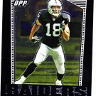 Randy Moss - Raiders 2007 Topps DPP Chrome Silver Refractor Football Trading Card #39