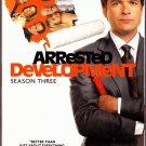 Arrested Development - Season 3, DVD 2009 2-Disc Set - Like New
