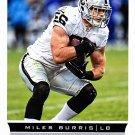 Miles Burris - Raiders 2013 Score Football Trading Card #157