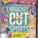 Whacked Out Sports Episodes 1-4 Uncensored DVD - Brand New