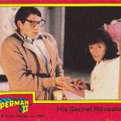 His Secret Revealed - 1980 Superman II Comic Trading Card #27