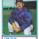 Lee Elia - Cubs 1983 Topps Baseball Trading Card #456