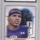 Cam Newton - Graded Rookie (Right Side) - SWG 10 MINT - 2011 Sage Hit Football Card #100
