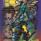 Origin of Cable - 1993 Marvel Comic Trading Card #137