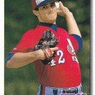 Chris Haney - Expos 1992 Upper Deck Baseball Trading Card #662