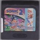 Sonic the Hedgehog 2 Sega Game Gear 1992 Video Game - Good