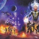 Captain Power - Royo 2 1994 Fantasy Art Trading Card #1