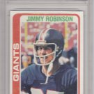 Jimmy Robinson - Graded - FGS 10 MINT - 1978 Topps Football Card #139