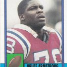 Bruce Armstrong - Patriots 1990 Topps Football Trading Card #419