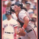 Mickey Tettleton - Orioles 1991 Score Baseball Trading Card #270