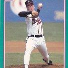 Tom Glavine - Braves 1991 Score Baseball Trading Card #206