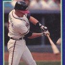 Jeff Blauser - Braves 1991 Score Baseball Trading Card #52