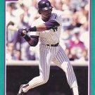 Jesse Barfield - Yankees 1991 Score Baseball Trading Card #148