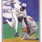 Tony Fernandez - Blue Jays 1991 Score Baseball Trading Card #432
