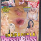 Incredible Pussy & Ass Tricks DVD - COMPLETE