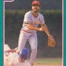 Jose Oquendo - Cardinals 1991 Score Baseball Trading Card #622