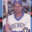 Steve Kiefer #542 - Brewers 1988 Donruss Baseball Trading Card
