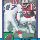 Eric Sievers - Patriots 1990 Topps Football Trading Card #428