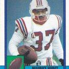Maurice Hurst - Patriots 1990 Topps Football Trading Card #429