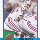 Steve Grogan - Patriots 1990 Topps Football Trading Card #418