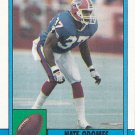 Nate Odomes - Bills 1990 Topps Football Trading Card #198