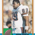 Orson Mobley - Broncos 1990 Topps Football Trading Card #47
