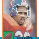 Melvin Bratton - Broncos 1990 Topps Football Trading Card #42