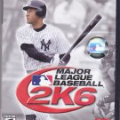 Major League Baseball 2K6 - PlayStation 2, 2006 Video Game - COMPLETE - Very Good
