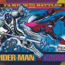 Spiderman vs Cardiac - 1993 Marvel Comic Trading Card #175