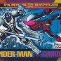 Spiderman vs Cardiac - 1993 Marvel Comic Trading Card #175