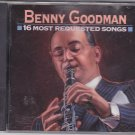 16 Most Requested Songs by Benny Goodman CD 1993 - Very Good