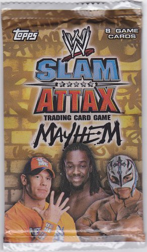 WWE Slam Attax - Mayhem - Brand New Factory Sealed Pack