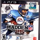 Madden NFL 25 -- Anniversary Edition PlayStation 3, 2013 Video Game - Very Good