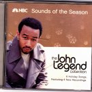 John Legend Collection - NBC Sounds of the Season - Holiday Songs CD - Very Good