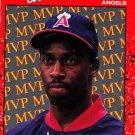 Chili Davis #BC20 - Angels 1990 Donruss Baseball Trading Card